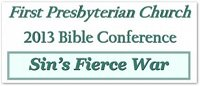 2013 Bible Conference Graphic