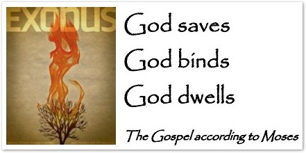 Exodus: God Saves, God Binds, God Dwells Sermon Series Graphic