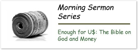 The Bible on God and Money Series Graphic
