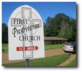 First Presbyterian Church Kosciusko!